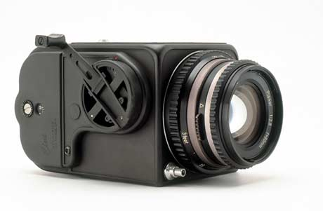 The Hasselblad 500C, with a planar 80mm lens (modified), was the first Hasselblad camera to be used by NASA in space. It was purchased by the astronaut Walter M. Schirra from a camera shop in Houston, Texas.Modification, carried out by NASA, involved removing the lining, mirror, focusing screen and hood, among other things, to make the camera lighter.