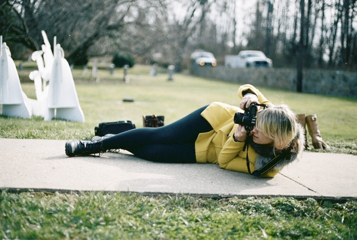 Photographers get workouts too.