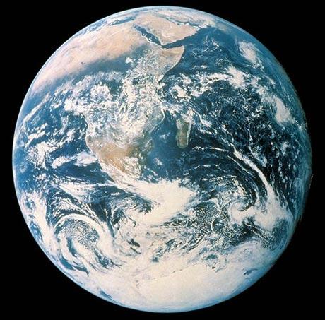 Film photo of Earth. Photo courtesy of Hasselblad.com