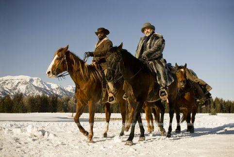 Django Unchained was shot in film