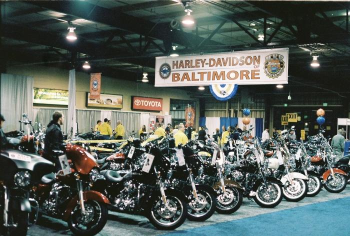Main show room. Beautiful bikes.