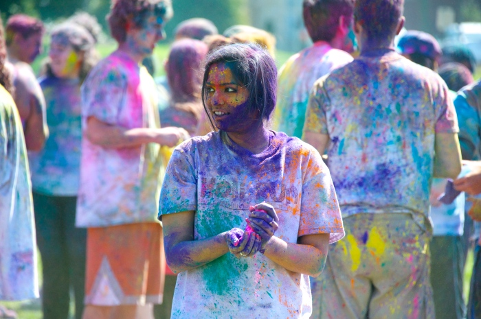 Towson University Holi Color Run