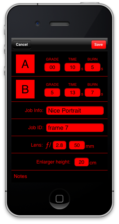 DarkTimer, An iPhone App That Lets You Focus on The Creative Process