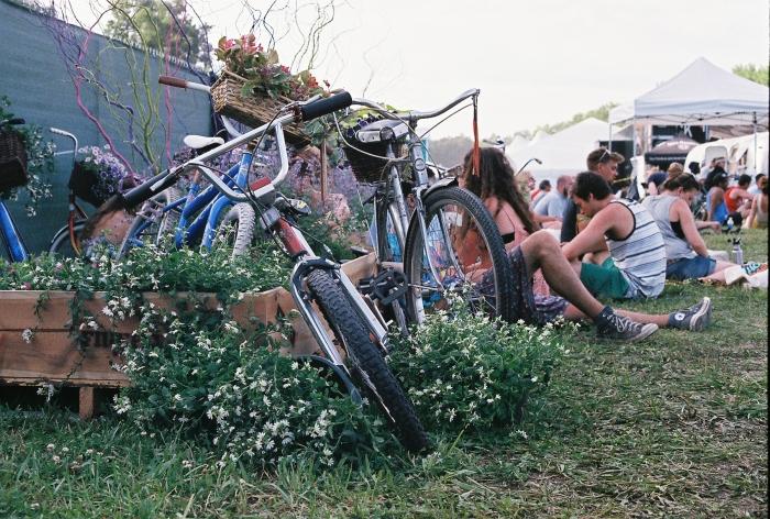 Some bike gardens