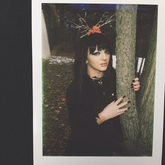 Instagram snapshot of the instax polaroid.