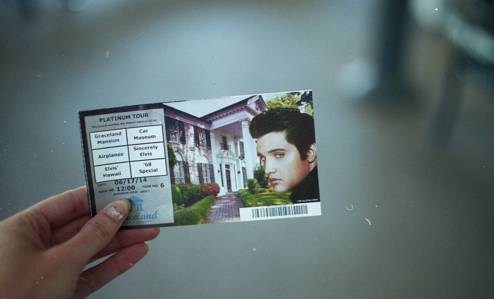 Ticket to Graceland, $37