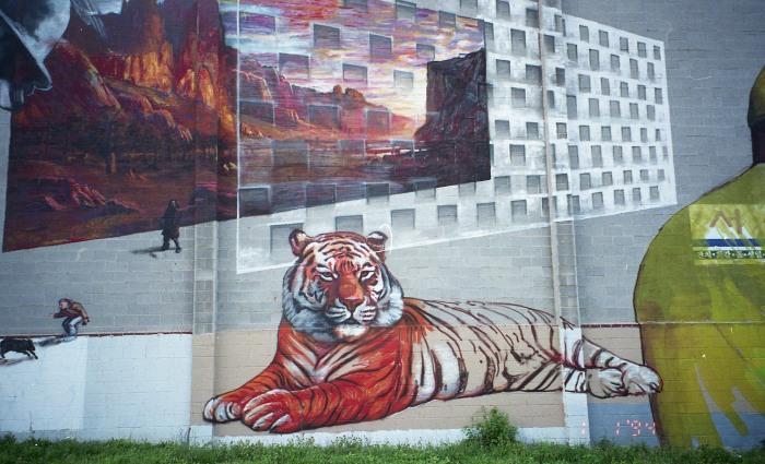 Baltimore wall art is amazing.