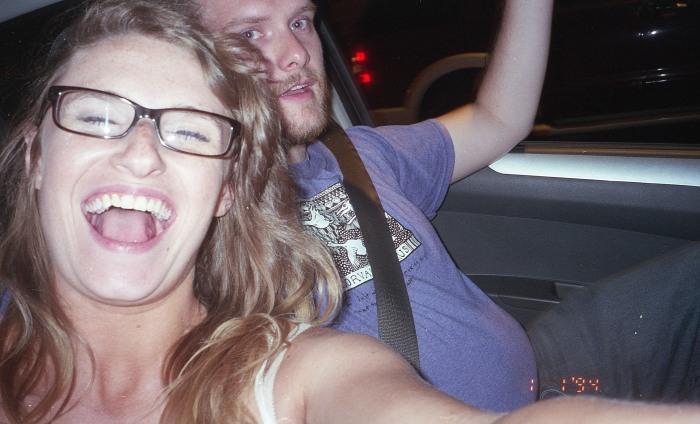 This was also taken while driving.