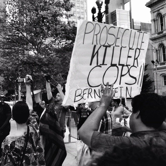 Protest Against Police Brutality 8/20