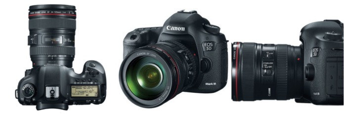 Canon 5D Mark III with 24-105 f/4 lens [Canon stock photo]