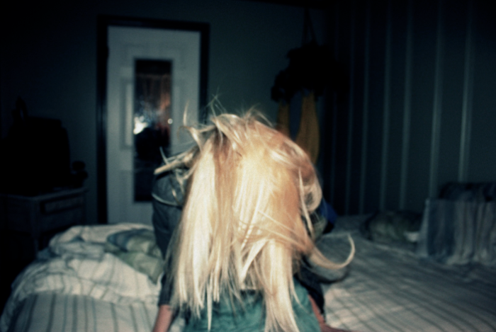Blurry. blonde, green….Tumblr phase 1.0