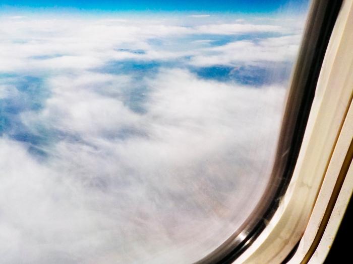 Somewhere over Montana