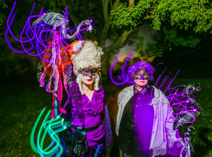 Halloween Lantern Parade shot for The Baltimore Sun - f/5.6, ISO 400, 6 second shutter speed