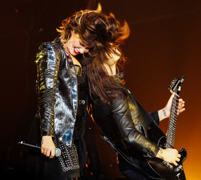 Baltimore, MD -- September 6th, 2014 -- Demi Lovato kicked off her world tour this past weekend at the Baltimore Arena. (Kaitlin Newman/Baltimore Sun)