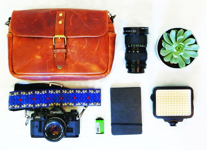 Flat lay, retouched.
