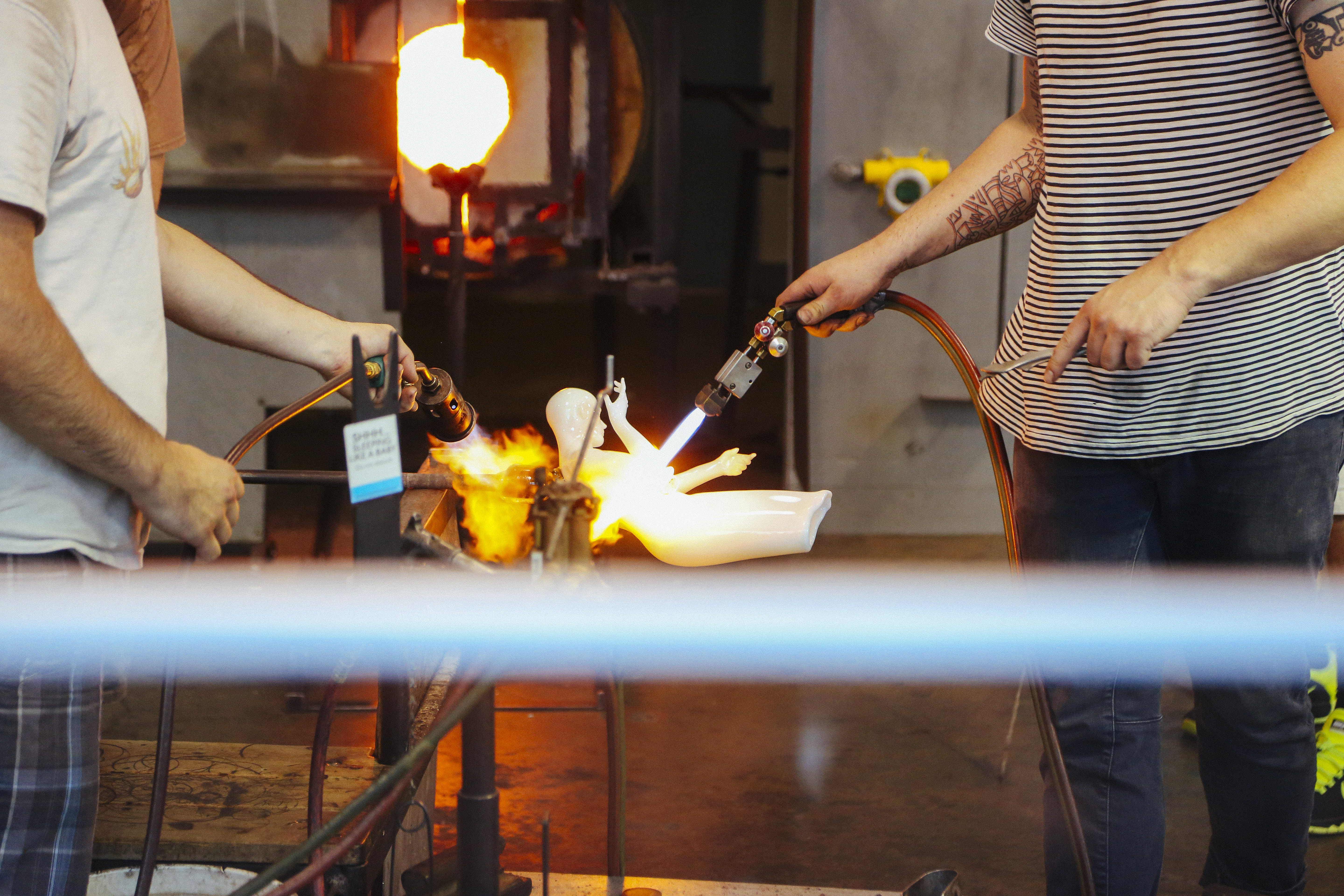 Corning Glass Blowing Classes